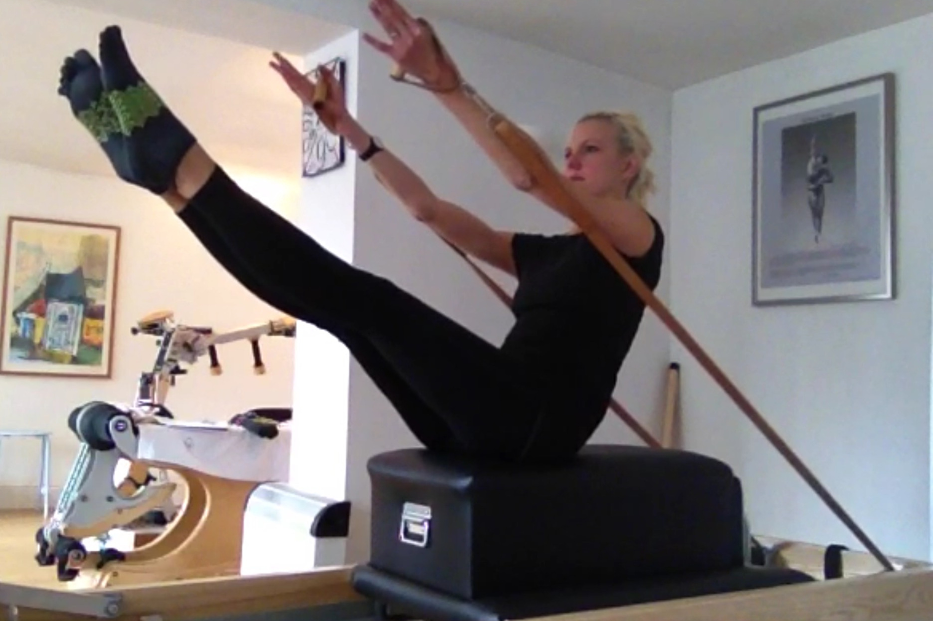One to one Sessions - One to One Classical studio Pilates, is what makes the difference, Find your reach and the connection that can be hard to find on the mat. The studio equipment will bring it all together. A studio session will be tailored to you and your needs. Email Rikke@lovingPilatesuk.com