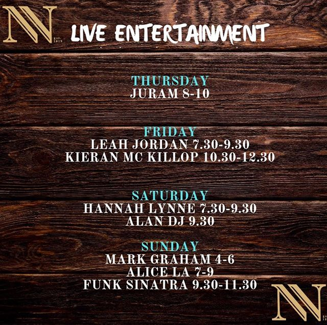Plenty to keep you folks entertained this week! #entertainment #livemusic #northernwhig #cathedralquater #belfast