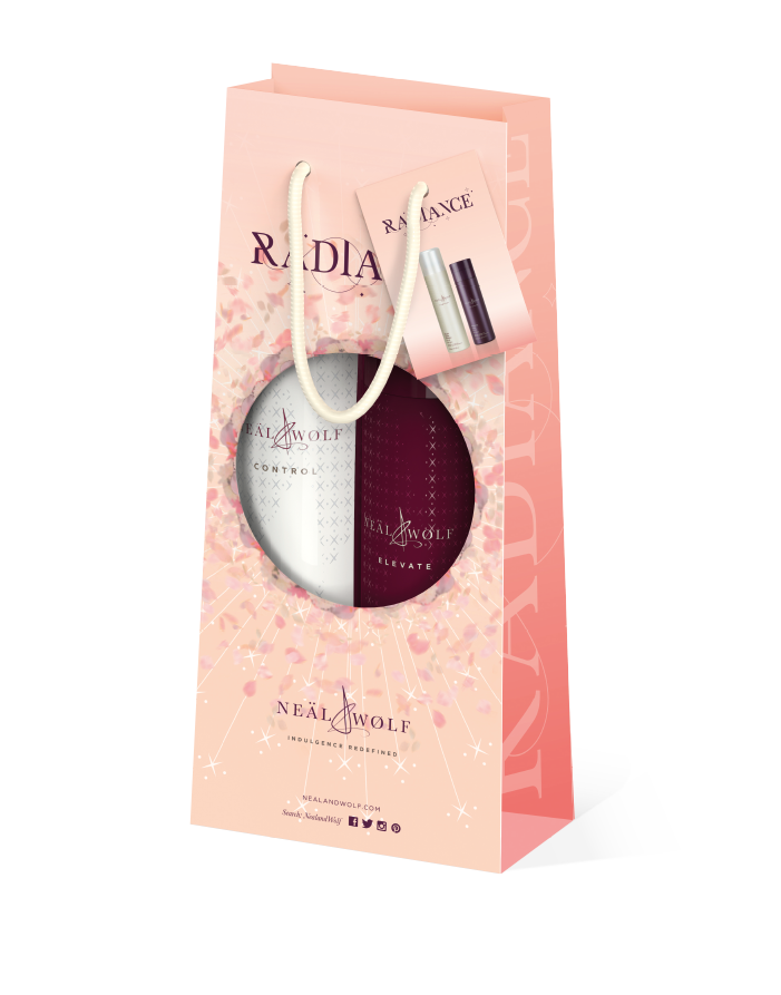 Neal and Wolf Radiance Duo Bag Flexible Styling Hairspray and Volumising Lotion
