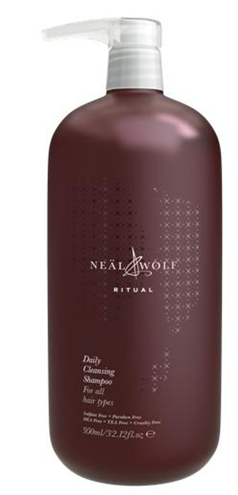Neal and Wolf Ritual Daily Cleansing Shampoo 950ml