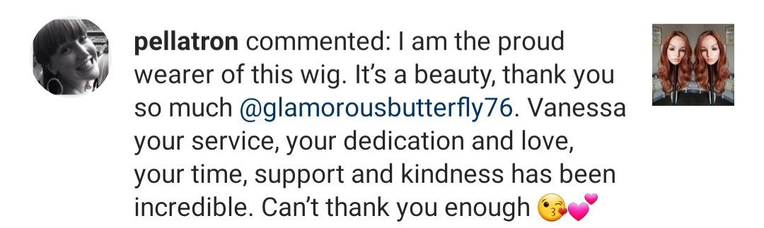 Review Glamorous Butterfly Wigs