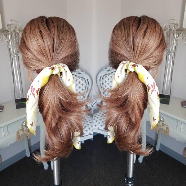 Wig up-do