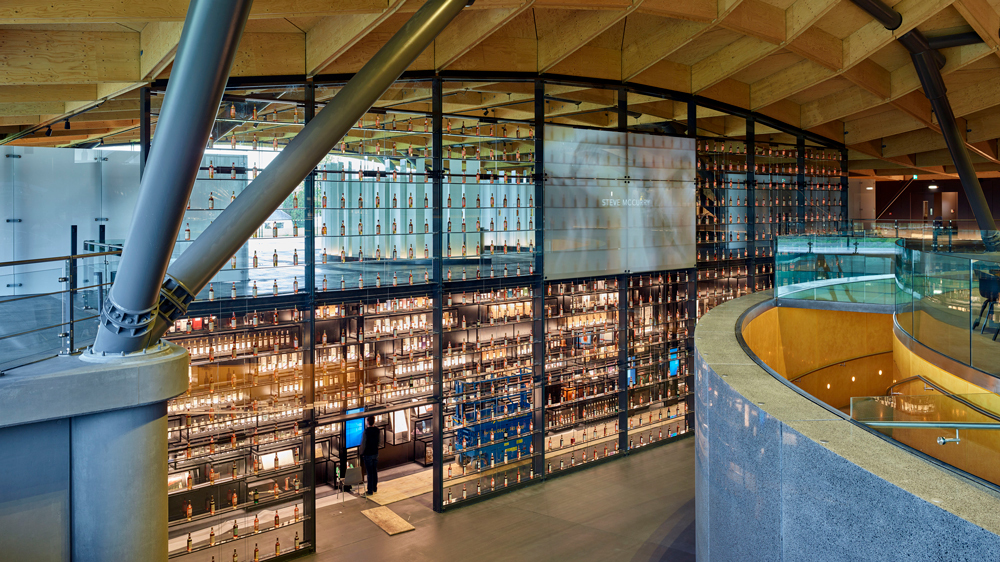 Integrating objects with digital experiences at The Macallan Visitor Experience