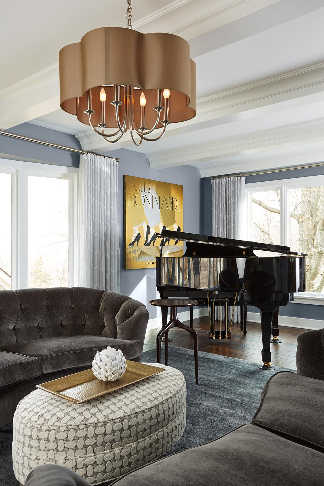 Contemporary Edina Formal Living Room Makes Simple Statement