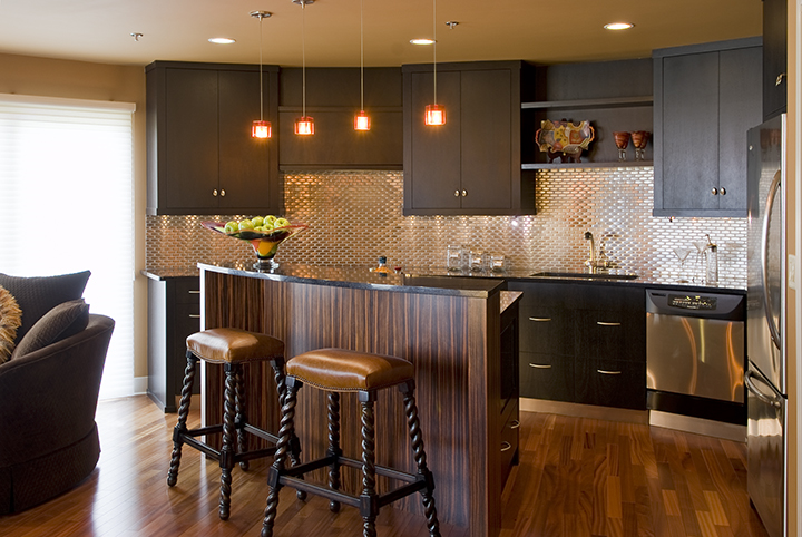 Unique, Round Minneapolis Grain Elevator Condo Renovation  A non-traditional building like a grain elevator turned condo is a location that already benefitted from fresh thinking. So when it came time to remodel the kitchen and eating areas, we couldn't have been more excited to bring new ideas.