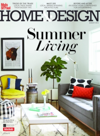 Home Design Magazine Summer Living Cover
