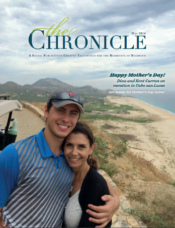 May 2016 Cover of The Chronicle Magazine