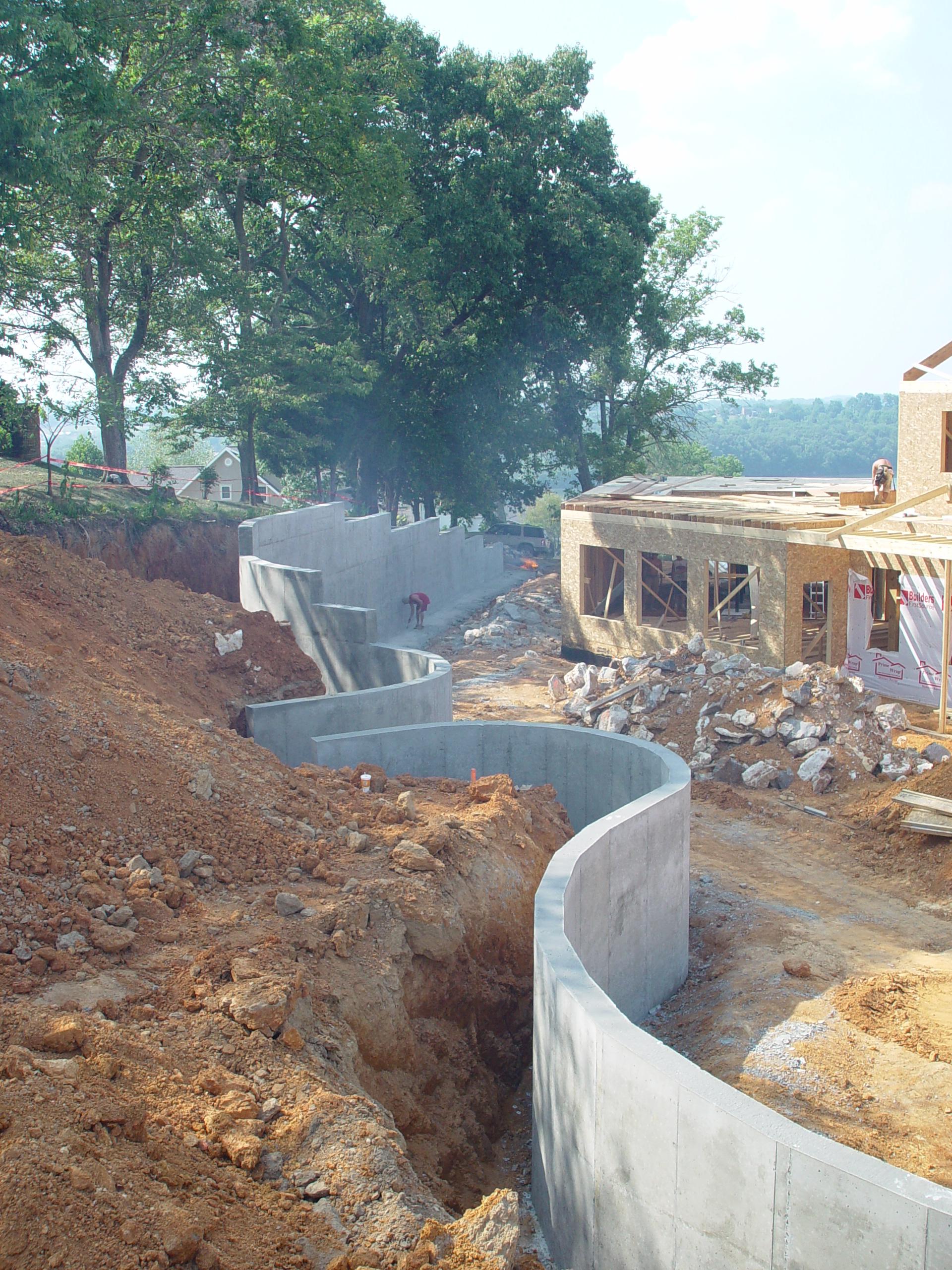 Harp Legacy Construction Concrete Foundations Framing