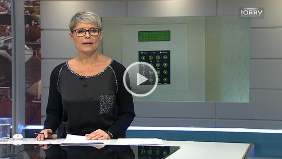 TV2 Lorry rapporterer om, hvordan Næralarms alarmsystem nedbringer nedbrud og tyverier og skaber sikkerhed i Jyllinge og Sengeløse