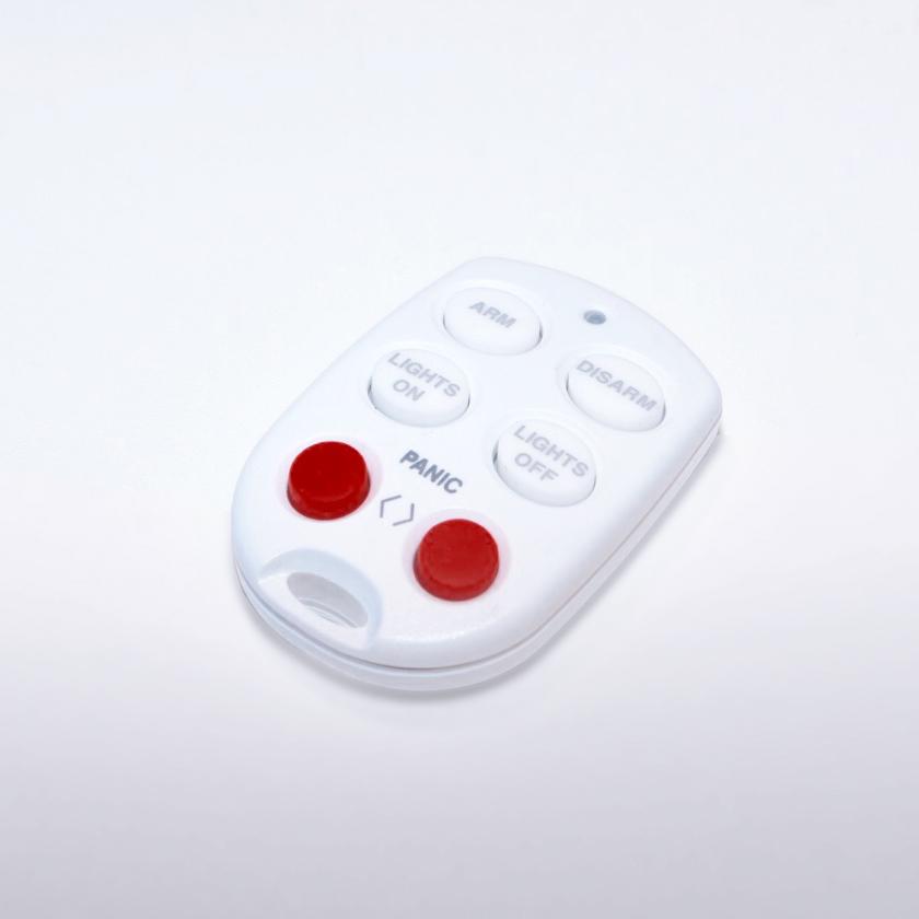 Med en ekstra alarm-fjernbetjening er I flere i husstanden, der kan nyde godt af nem til- og frakobling af alarmsystemet