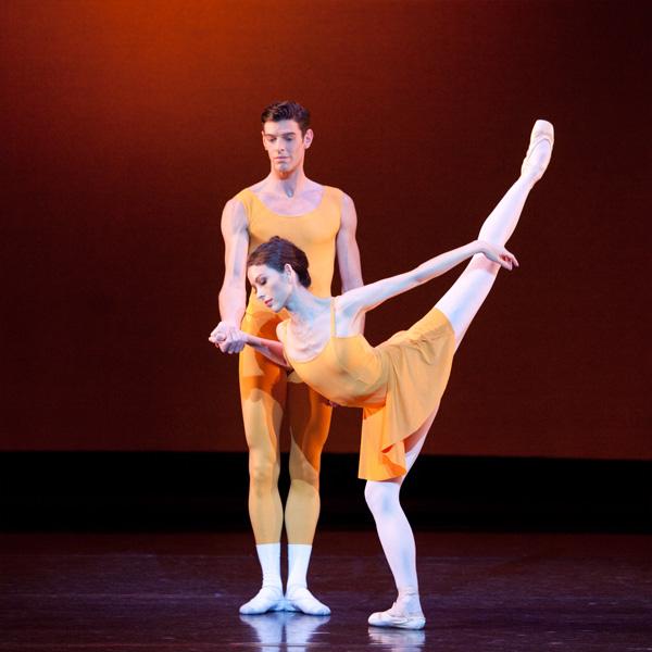 Juliet Burnett and Andrew Killian in Kenneth MacMillan's Concerto