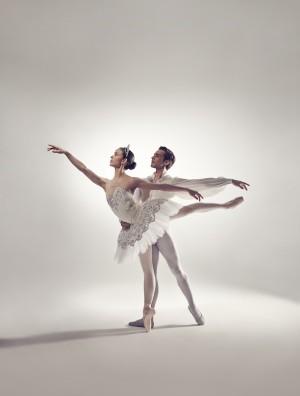 Juliet Burnett and Daniel Gaudiello as Bloch Ambassadors 2014