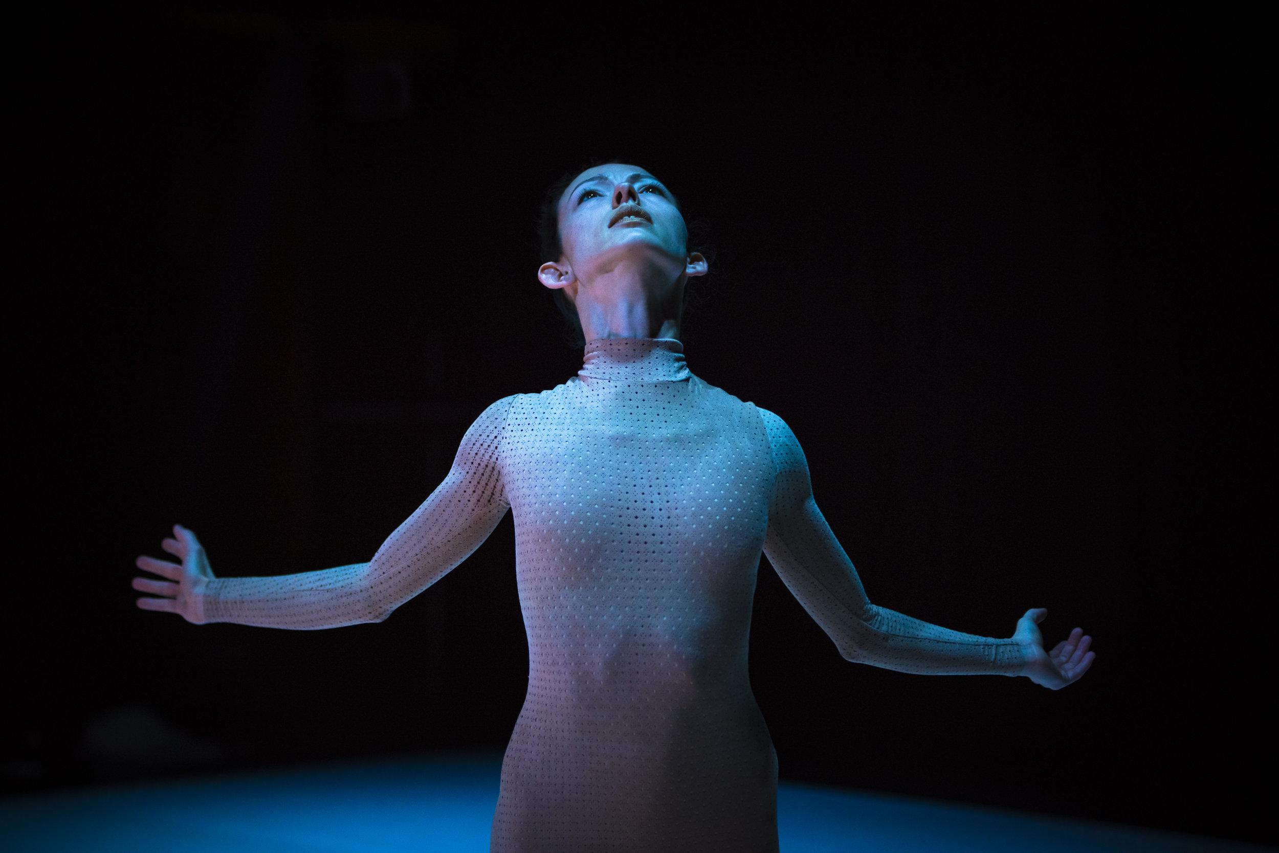 Juliet Burnett in Melanie Lane's Re-make, Chunky Move 2016