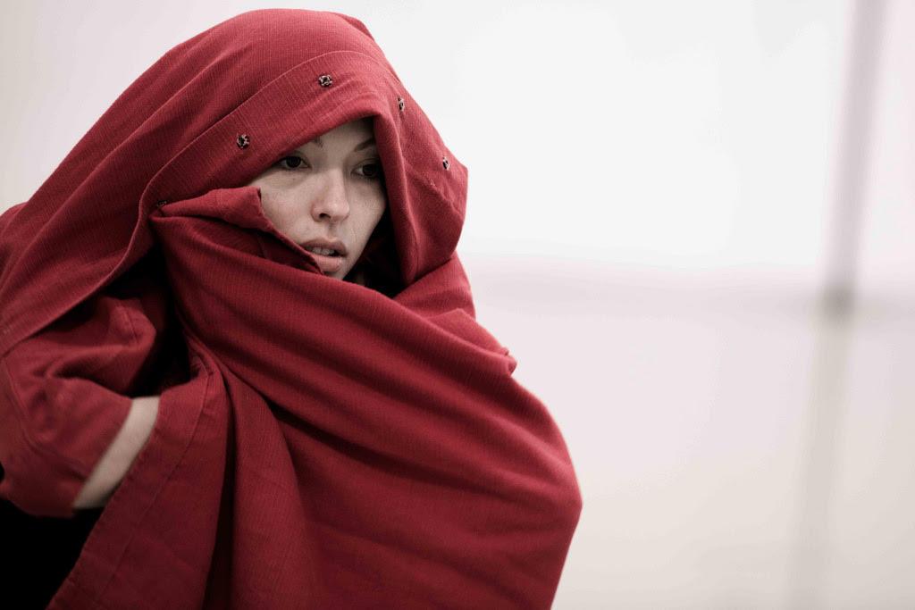 Juliet Burnett in creation for Sidi Larbi Cherkaoui's Requiem