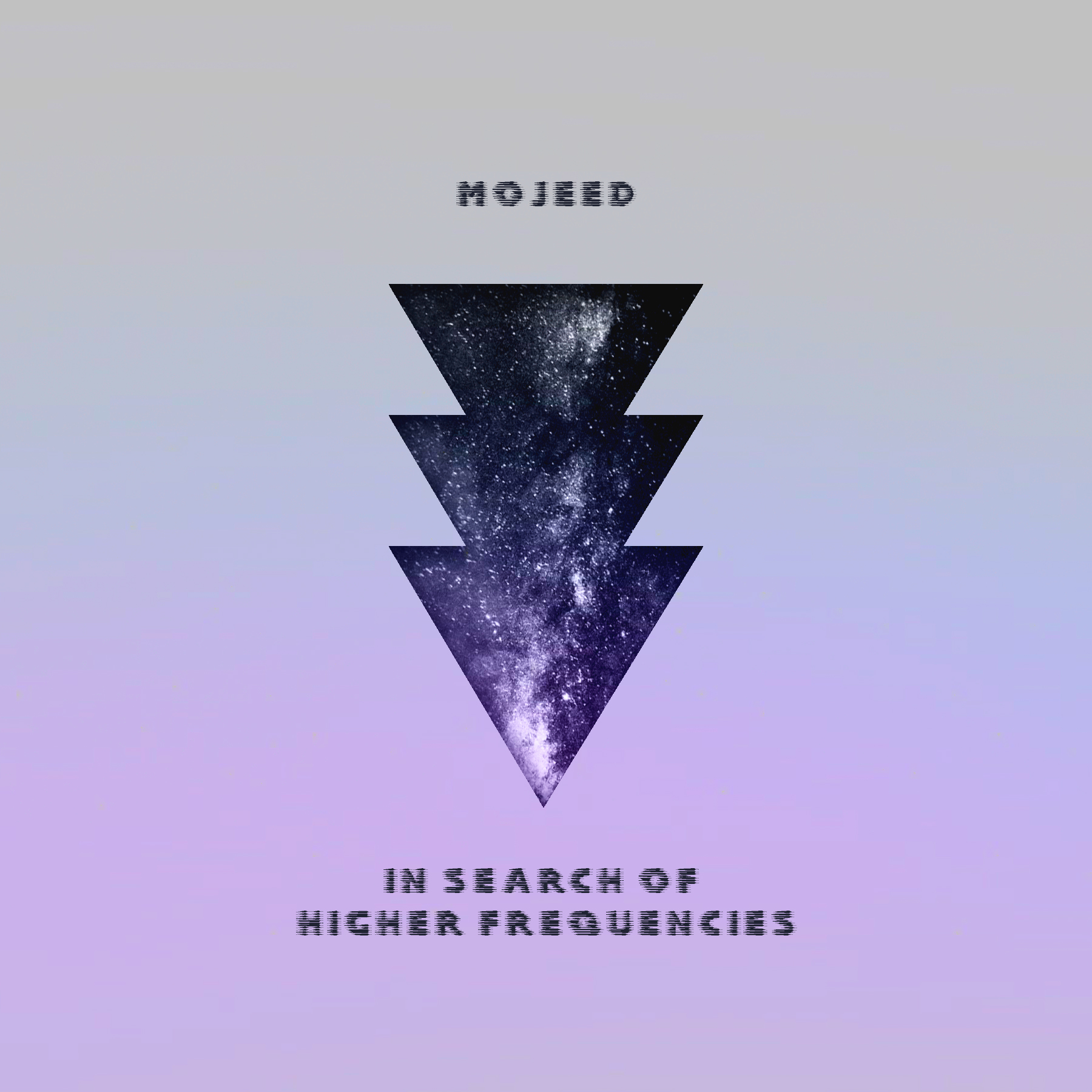 in search of higher frequencies - Album cover artwork for Mojeed