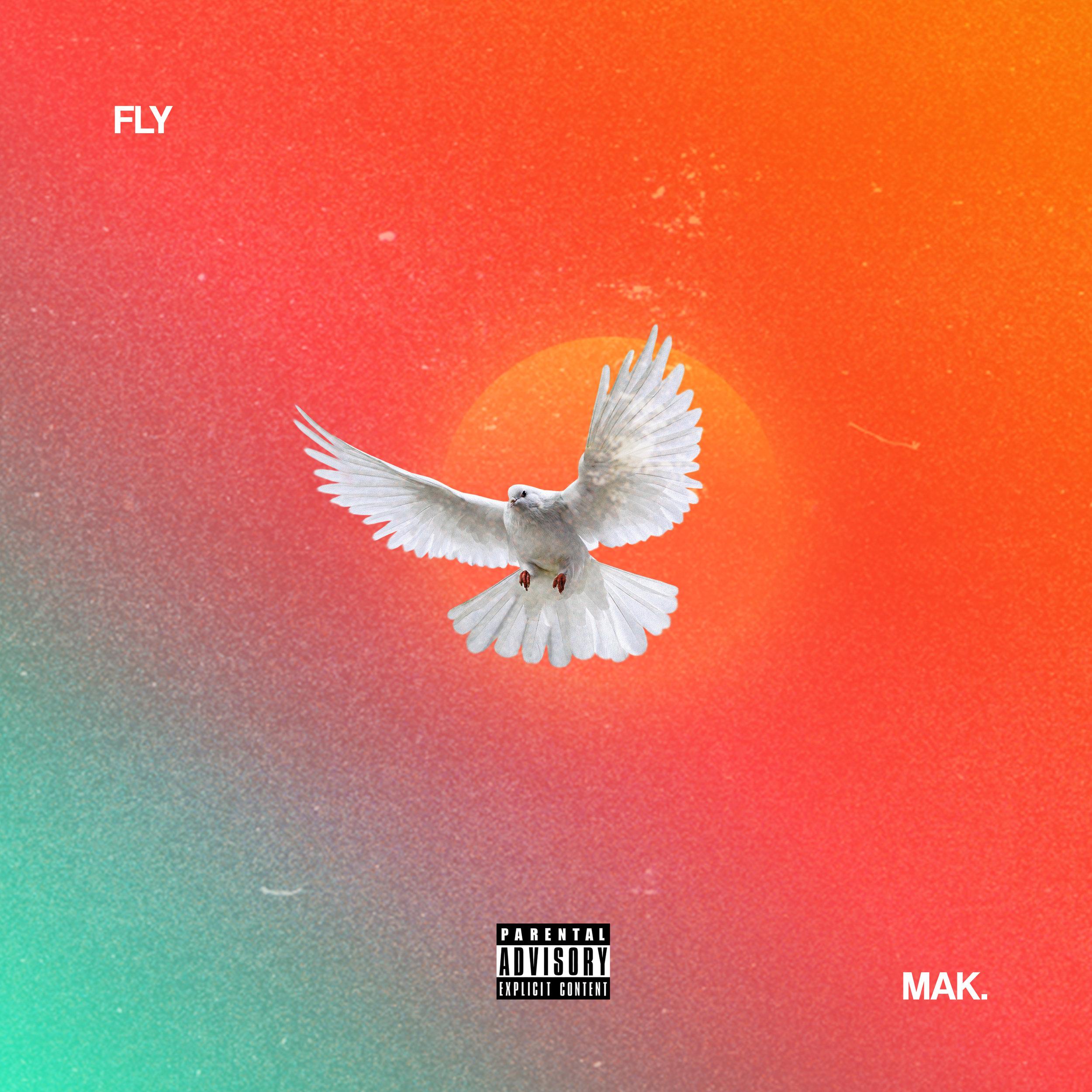 fly - Singly cover artwork for MAK.