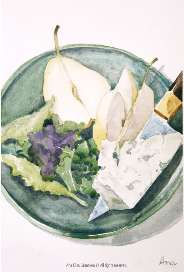 Pear and Roquefort