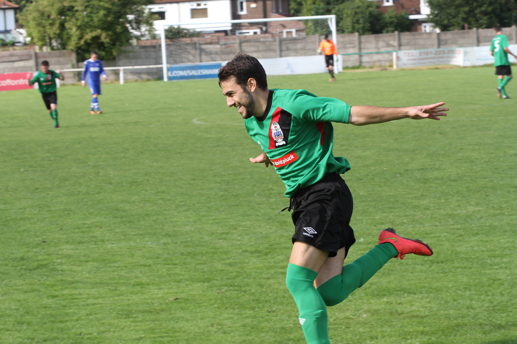 'Spanish Kev' wheels away after giving us a 3-0 lead