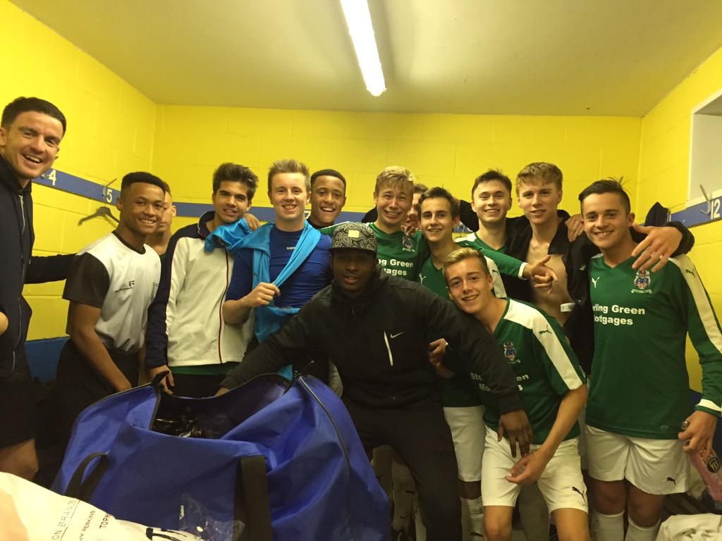 Happy times for the Youth squad at the moment!
