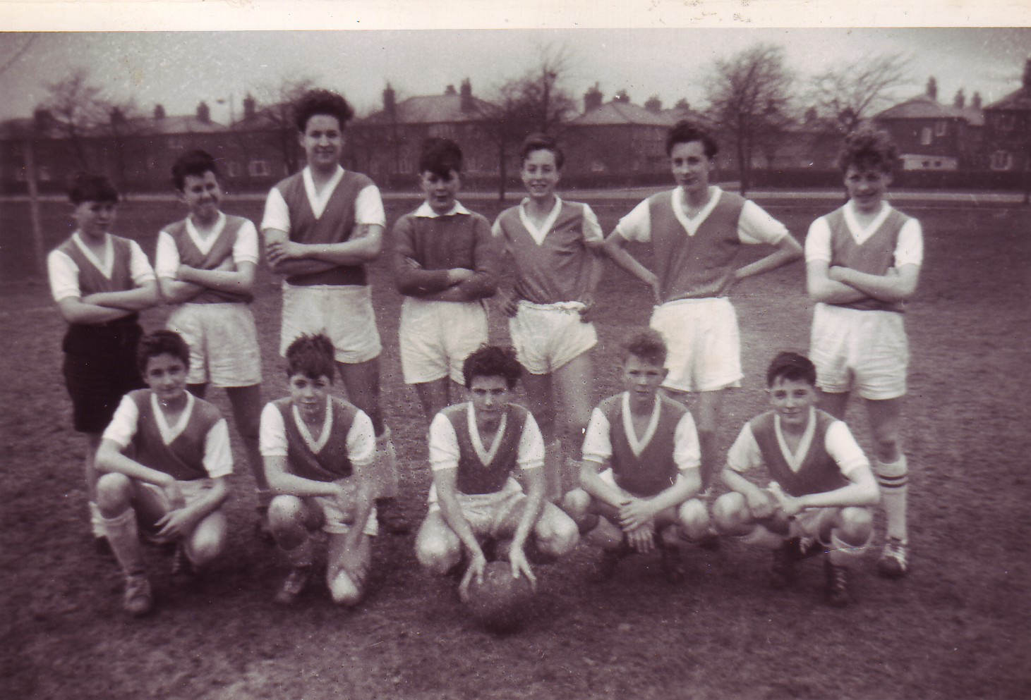 The first ever Grasmere Rovers team