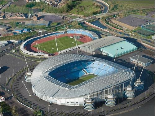 Manchester Regional Arena (the one at the top of the picture!)