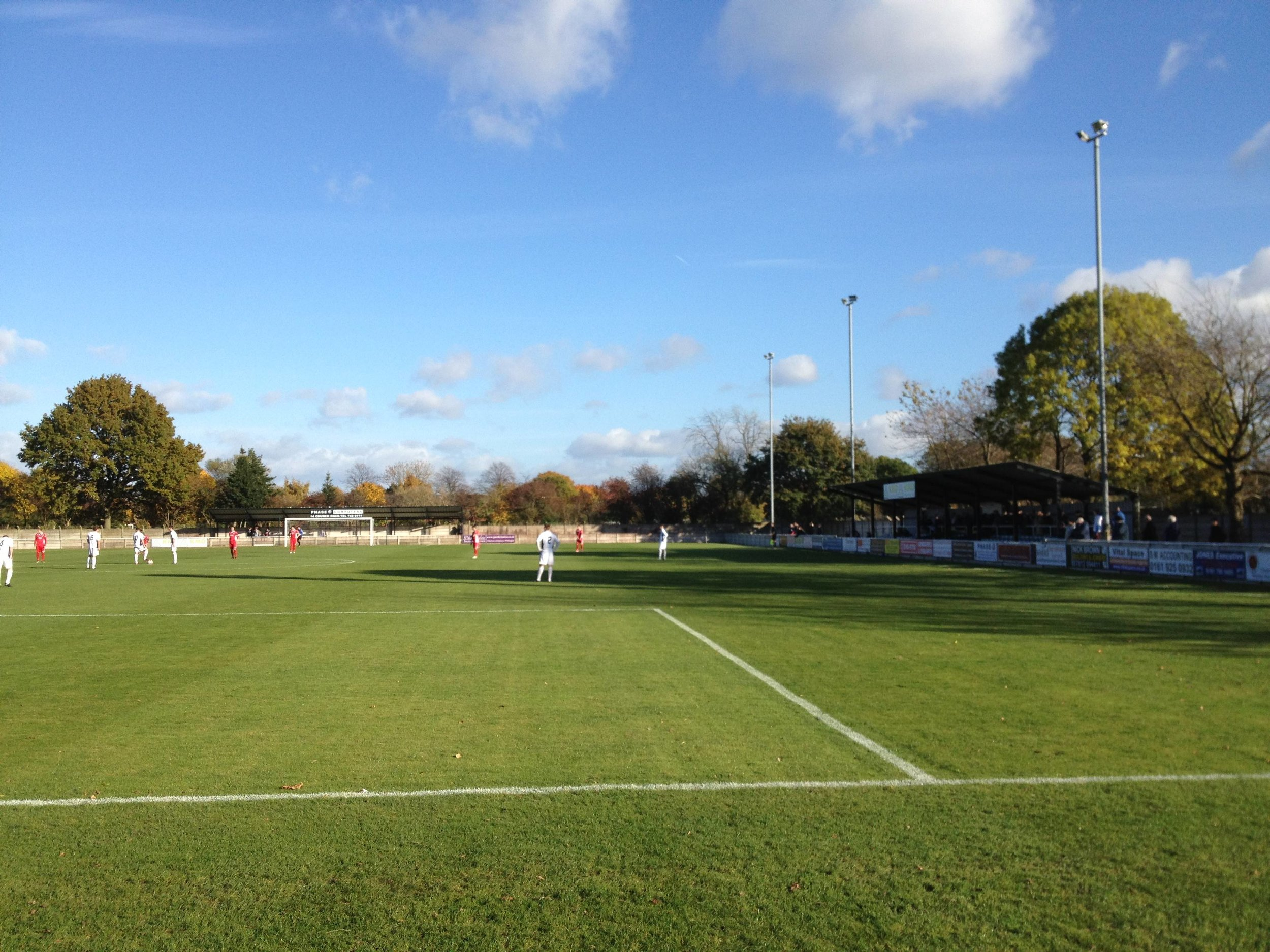 Shawe View - one of the Northern Premier League's better grounds (image: Wikimedia Commons)