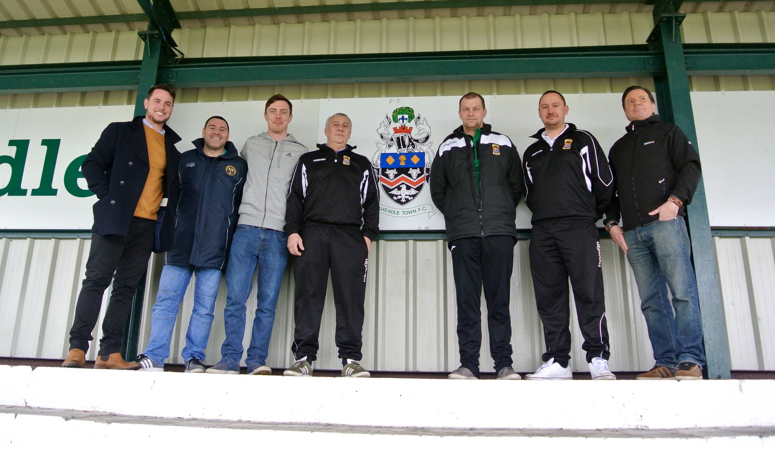 Craig (far left) with our current management team