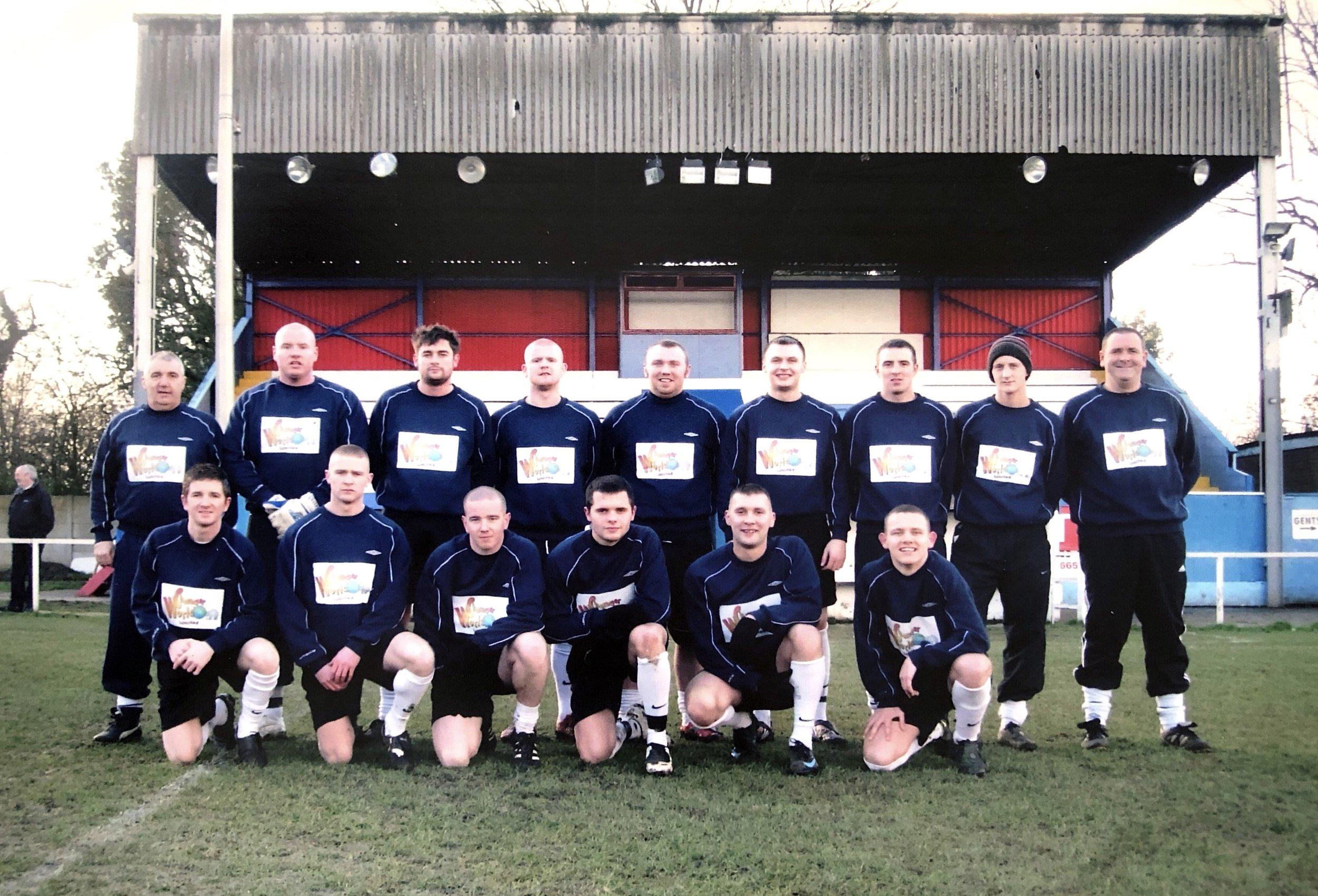Cheadle Town FC, 2010-11.