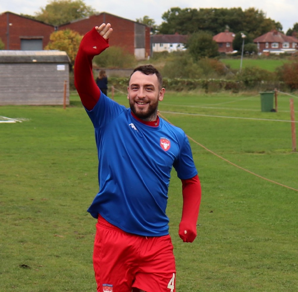All smiles. It was good to see Matthew German returning to the Cheadle fold.