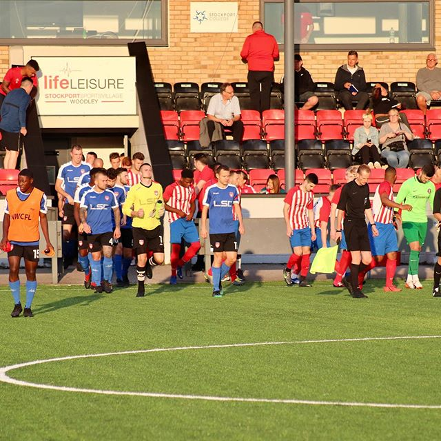 v Stockport Town (a), 05-08-19 Match action
