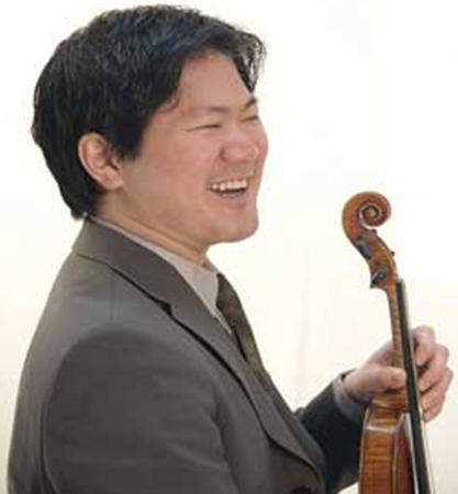 Dr. Ray Iwazumi, D.M.A., Violinist