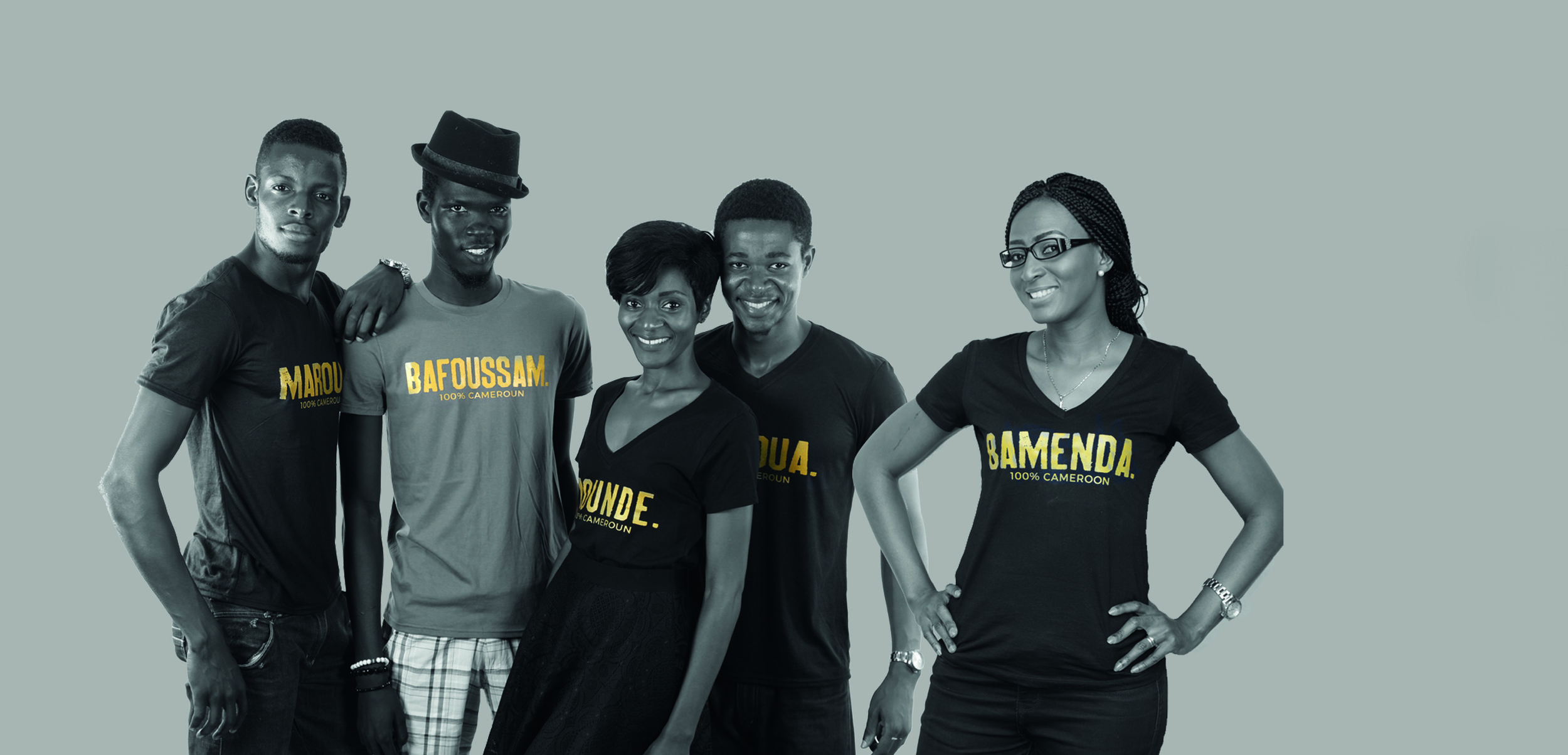 100%CAMEROON  collection: pick a city, support a school! Available in Yaounde @CCMC behind the Chinese embassy.