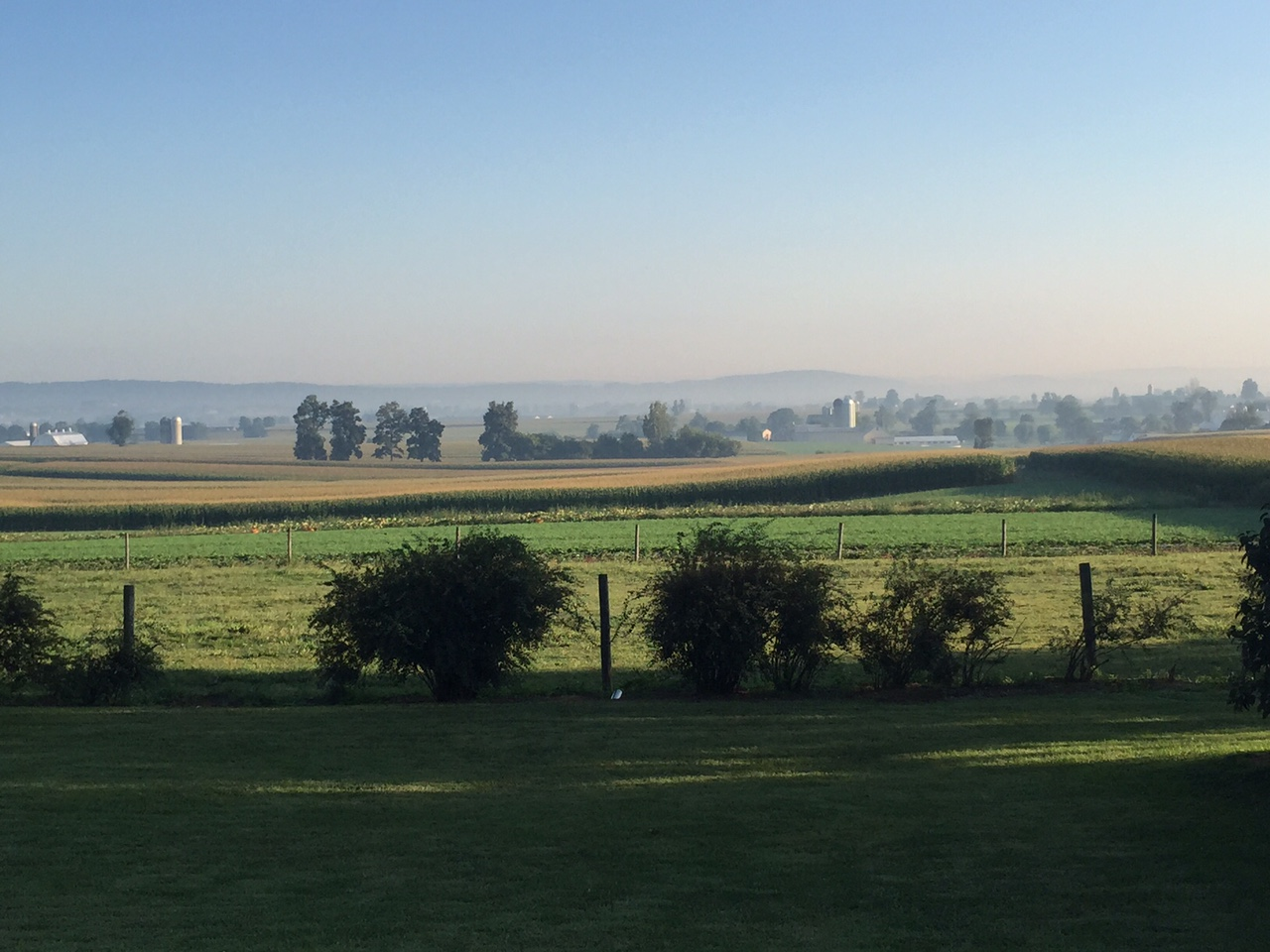 The beauty of Lancaster County. The view from my office.
