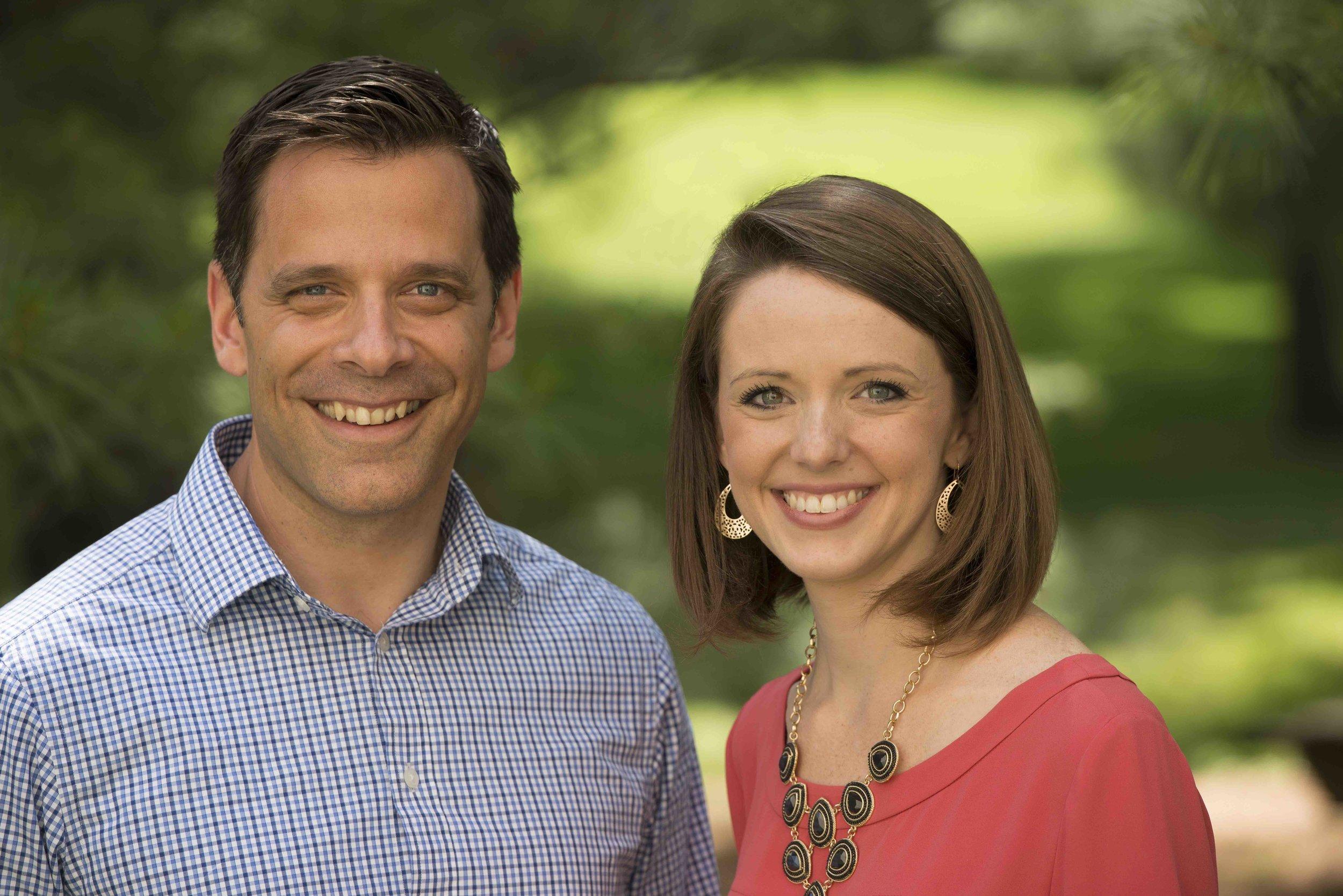 Dr. Rohal and Hannah Barry, R.N.