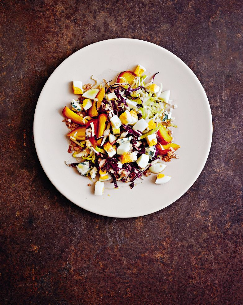Gwenyth Paltrow's Roasted Beet & Blue Cheese Salad