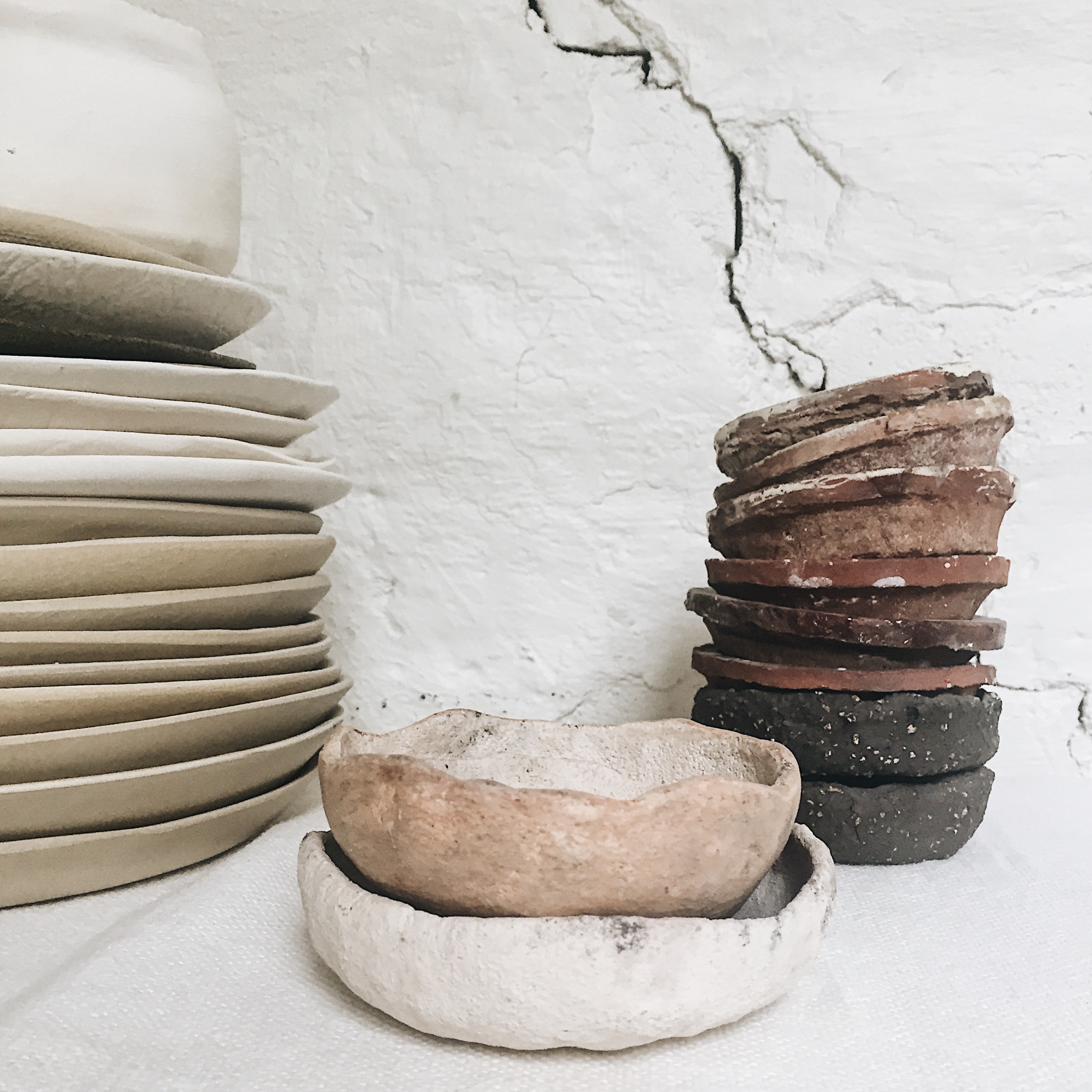 Raw beauty shaped by the hands of Ragnhild Wik.