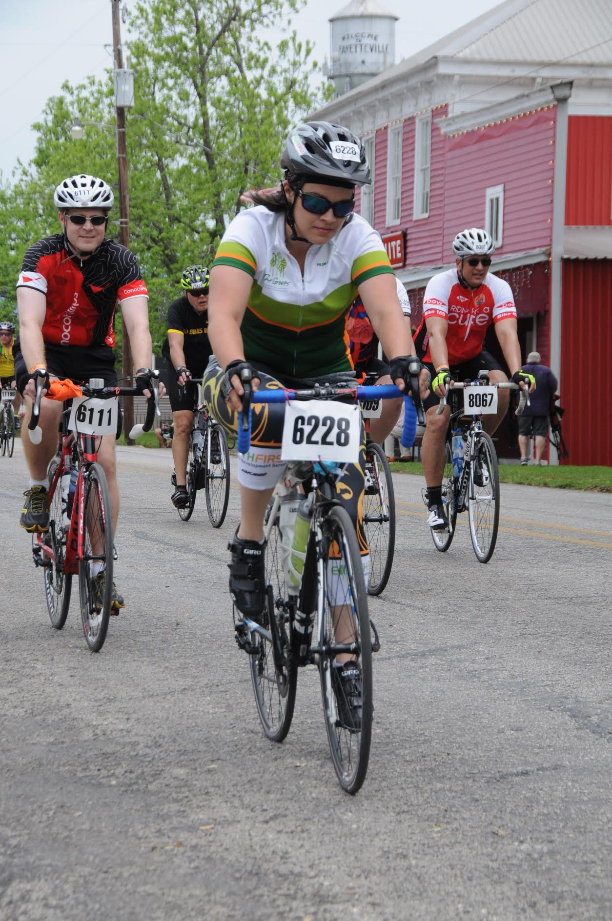 One of our very own from Earth First Landscapes in Katy, Texas riding in the 2016 BP MS 150 Ride!