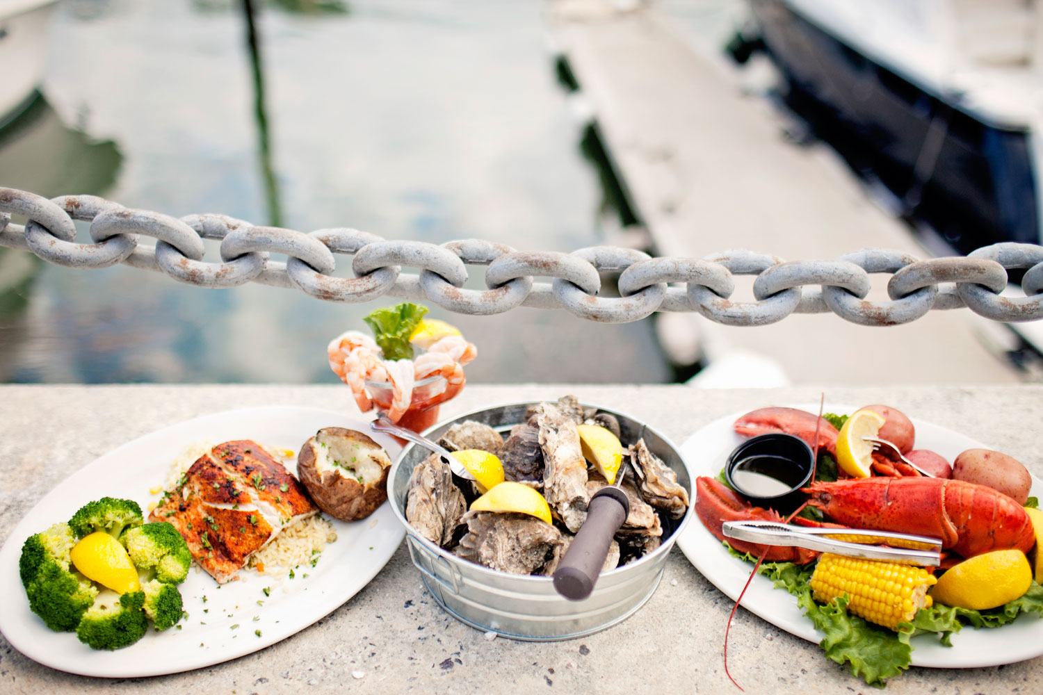 Fresh Fish, Oysters, Crab, Lobster