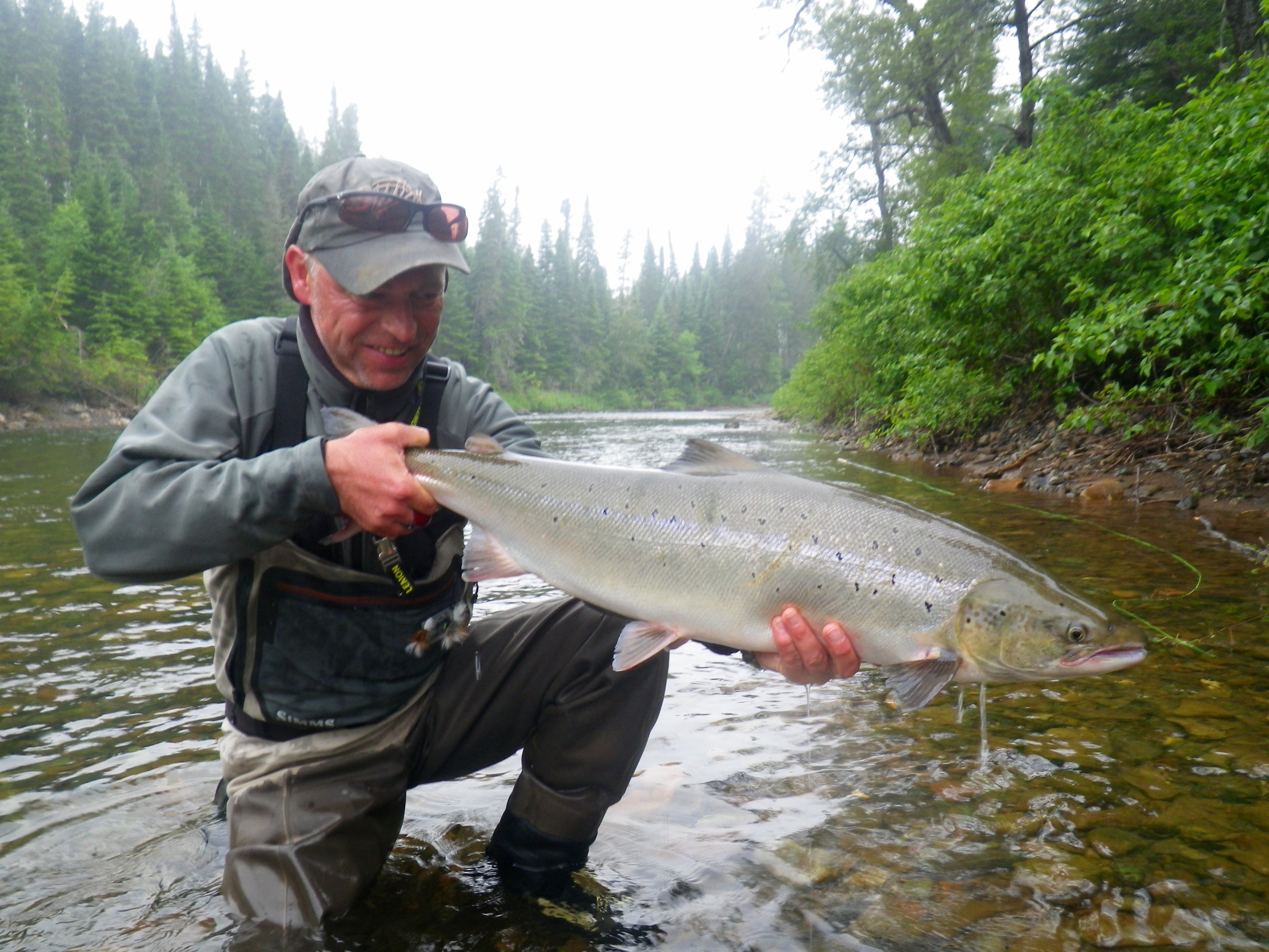 Denmark angler Thomas Mahnke has been a regular at salmon lodge for many years, he sure knows his stuff!