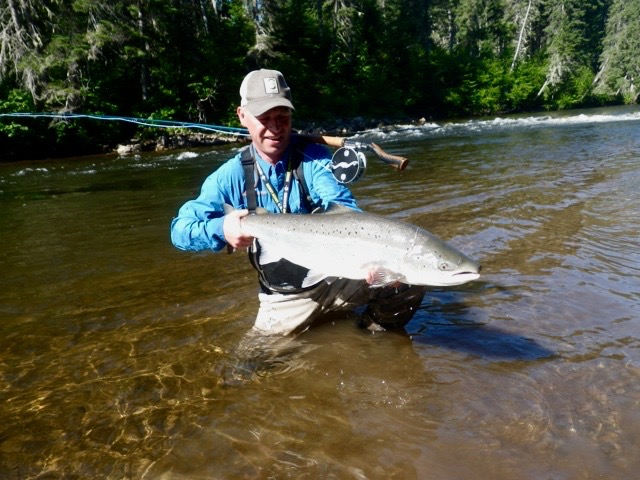 Salmon Lodge regular Thomas Mahanke comes all the way from Germany each year, here's why!