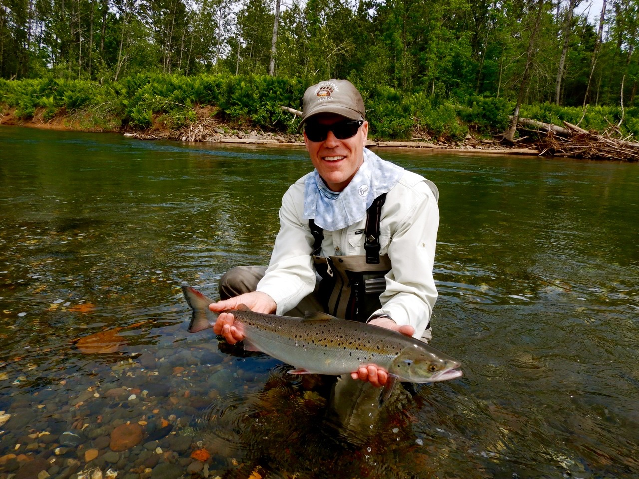 Brian Townsend doest it again on the Bonaventure, high rod for the week, congratulations Brian!