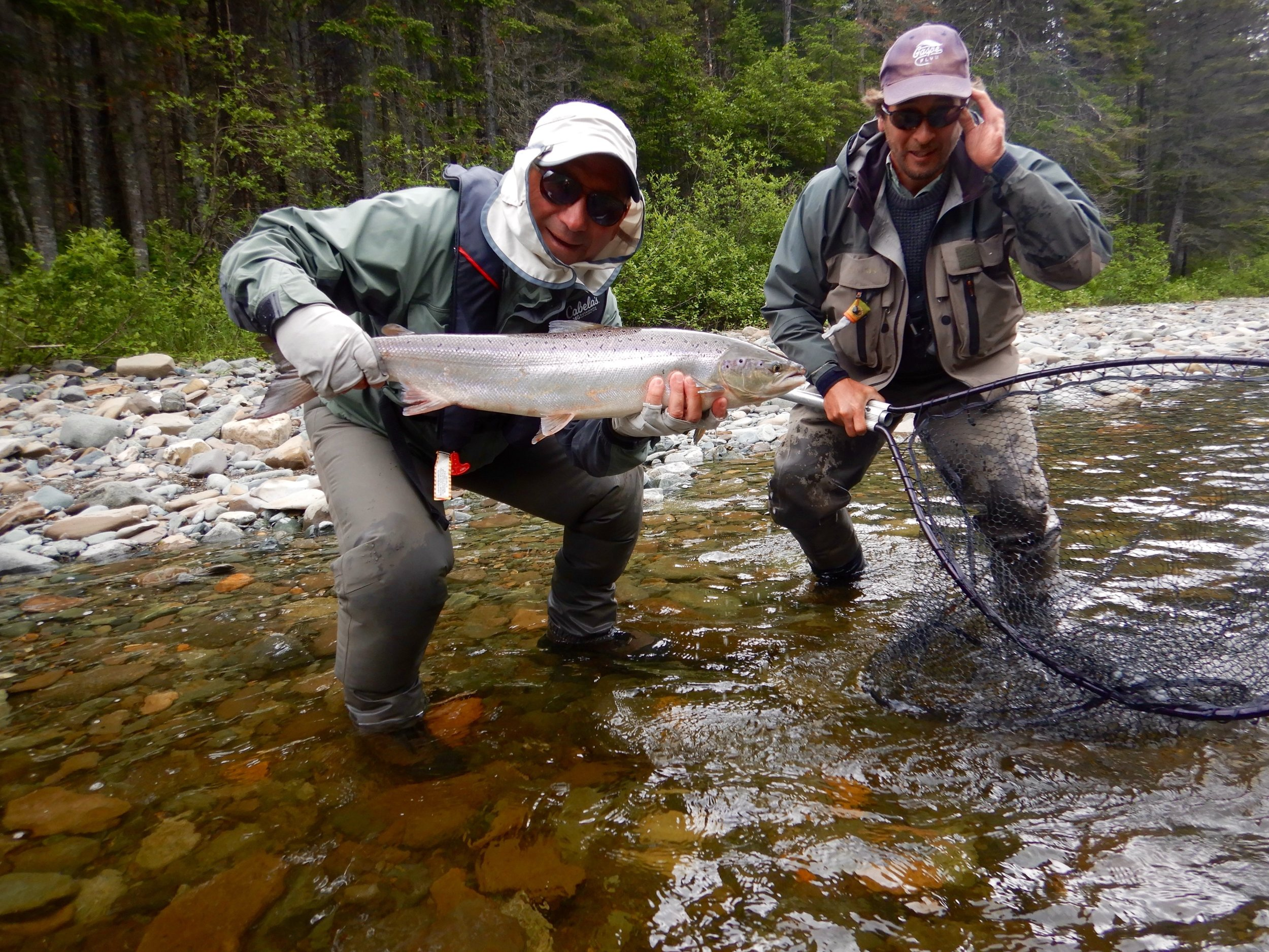 Gerry Savoie has been a part of Salmon Lodge for many years, well done Gerry, always great when you're at camp.