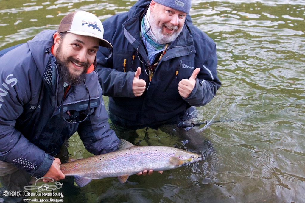 A Win for Dan Greenberg and our guide Alex Mallais! Nicely done boys! Love those smiles!