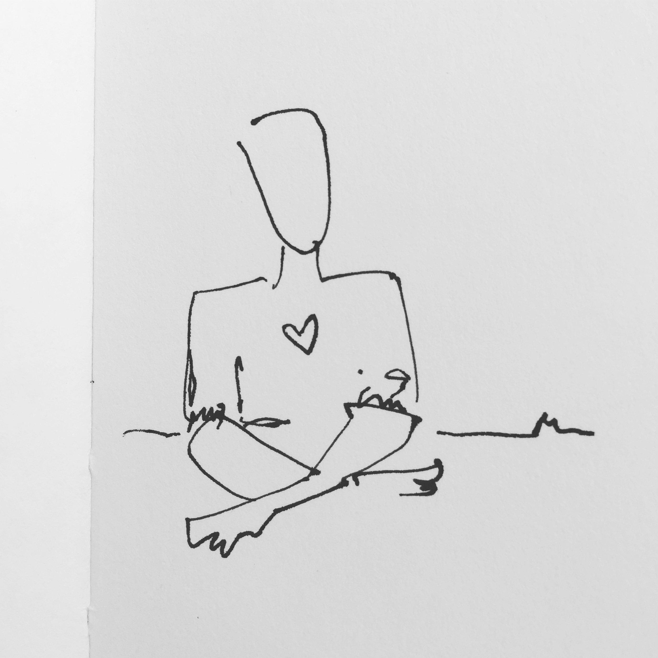 Simple pic sitting heart.JPG