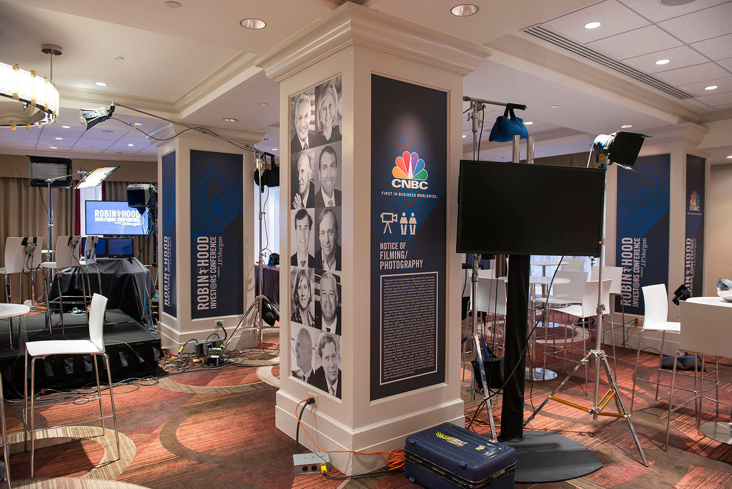 CNBC LIVE BROADCAST ROOM