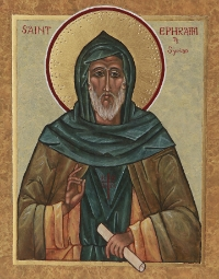 St. Ephraim the Syrian (commemorated on Wednesday 22 July)