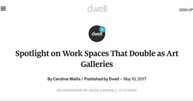 Our sister gallery mentioned on Dwell Magazine's website this weekend! https://www.dwell.com/article/spotlight-on-work-spaces-that-double-as-art-galleries-1417a501 #ell #ellsf #ellsanfrancisco #ellgallary #ellevents #art #artsanfrancisco #artsf #architecture #architecturesanfrancisco #design #designsanfrancisco #designsf #photography #sanfrancisco #chinatown #chapelcoffee #fourbarrelcoffee #friendoblendo #coffee