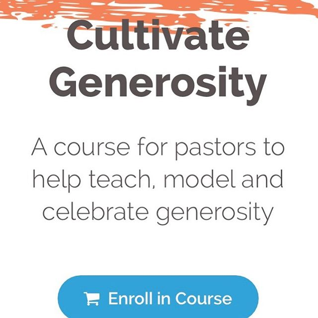 "Pastors,  September is just around the corner and we all know what that means. Christmas and year-end giving are practically here!  I've worked with hundreds of pastors over the years and let me tell you, I know how stressful this time can be for you! However, I'm confident that your messages on generosity this fall can be just as exciting as everything else we celebrate during the holiday season.  The truth is, generosity is a straight-forward concept…we give because God gives to us. As Christians, giving is part of who we are.  But that's where it gets tricky. Finding fresh and inspirational ways to talk about generous living isn't easy.  Until now.  Introducing the Cultivate Generosity Course from I Like Giving.  This 6-lesson course was created to teach and equip pastors with resources to shape their churches' understanding of generosity. You will be better equipped to relate to major givers in your church and have the tools to inspire your church into giving like never before. The course features guest interviews with inspirational teachers and pastors like Mark Batterson, Kenton Beshore, and Dick Foth.  What's inside the course:  Lesson 1: What is the Generous Life? With Brad Formsma Lesson 2: Generosity Looks Like... Featuring Teaching from Dick Foth Lesson 3: The Power of Story in Your Teaching Lesson 4: Growing in Generosity: An Interview with Mark Batterson Lesson 5: Understanding Major Givers in Your Church Lesson 6: Generosity and Your Vision: An Interview with Kenton Beshore Also, don't miss:  Bonus Session: The Next Generation's Voice on Generosity Bonus Session: How to Host a ""Celebrate Generosity"" Weekend at Your Church Want to get the resources?  Simply visit CultivateGenerosityCourse.com and use the coupon code TAKE100 to get $100 off, plus a special bonus.    HURRY! THIS OFFER IS ONLY GOOD THIS WEEK AND FOR THE FIRST 100 SIGNUPS."