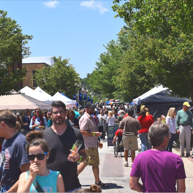 Toast of Toccoa - Downtown's Biggest Annual Festival