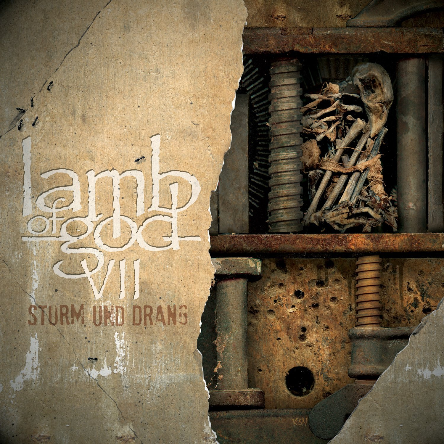 """Lamb Of God – VII: Sturm Und Drang    Well, well, Lamb Of God have come out swinging, and swinging HARD. If you are reading this, then you are more than likely aware of what Lamb Of God, and singer Randy Blythe's, last couple of years have been like, so we don't need to go into all that again. What we CAN go into is how focused, precise, and historic (yes, historic) this album is. Maybe it IS because of what the guys have been through, maybe it's the state of the scene, maybe the stars just happen to be aligning… but this record has a definite vibe to it that the others don't have. Something is in the air with Lamb Of God, and no matter what happens down the line, this record is gonna be in the conversation for a long, long time.    Let's just get this out of the way right now: """"Overlord"""" is a badass masterpiece, and that's the bottom line. If I hear any talk about the vocals being weak because they are clean, or that now LOG is selling out, I'm gonna puke. You are NOT a fan, or a smart person in general if you yell out that stuff. The song itself is epic. A swampy, velvety intro with a bluesy guitar run or two right into Blythe's new found vocal prowess is just the maturity and progression this band has needed. These guys get it, and that's refreshing.    I'm stoked by """"Still Echoes"""" alone. That song is a great album starter and an instant classic….razor sharp and executed to perfection. This is the focus I'm talkin' about. A metalheads delight for sure. """"512"""" is an anthem if there ever was one, with a mountain-sized chorus that I know audiences from here to Tokyo will be singing back to the band. Chino from The Deftones lends vocals to """"Embers"""", another standout track…..it makes you good to feel somber if you can imagine that    """"Footprints"""", """"Torches"""", I could go on and on and on. This record has been worth the wait, and really has gotten me back into Lamb Of God in a heavy way. This is an album they had to make and it's cemented in Heavy Metal culture already… a"""